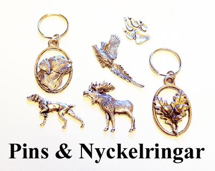 PINS & Nyckelringar