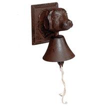 Dörrklocka Hundhuvud