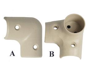 Över- / underbeslag PVC/A
