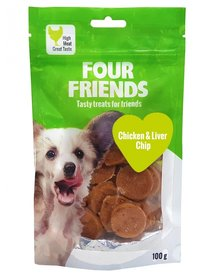 FF Dog Chicken & Liver Chip