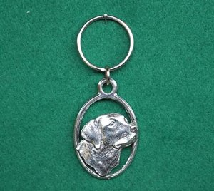 Nyckelring Huvud Labrador