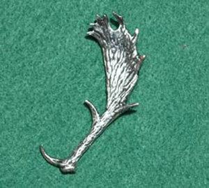 PIN Horn Dovhjort