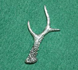 PIN Horn Rådjur